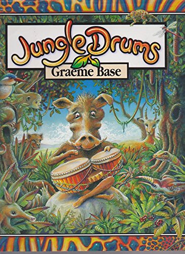 9780670041084: JUNGLE DRUMS [Hardcover] by Base, Graeme