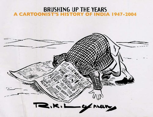 9780670057993: Brushing Up the Years: A Cartoonist's History of India 1947-2004