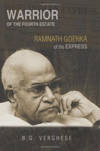 9780670058426: Warrior of the Fourth Estate - Ramnath Goenka of the Express