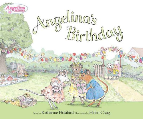 9780670060573: Angelina's Birthday (Angelina Ballerina)
