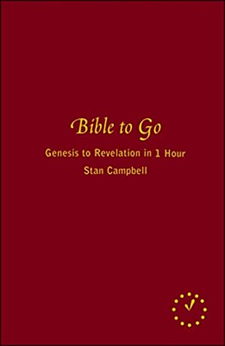 9780670065622: Bible To Go: Genesis To Revelation In 60 Minutes