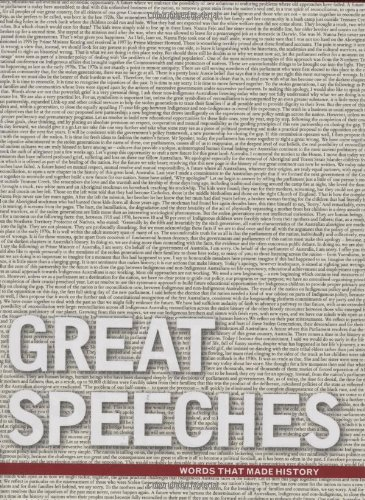 9780670072446: Great Speeches: Words That Made History