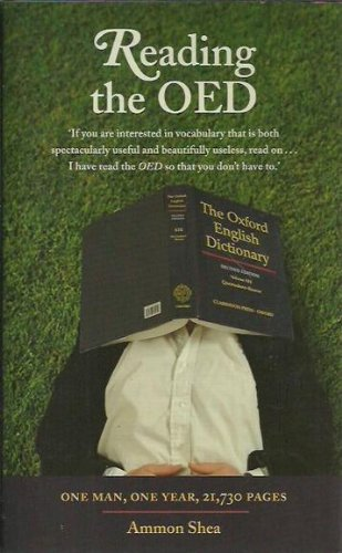 9780670073375: Reading the OED: One Man, One Year, 21,730 Pages