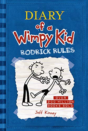Diary of a Wimpy Kid - Rodrick Rules (Hardcover): Jeff Kinney