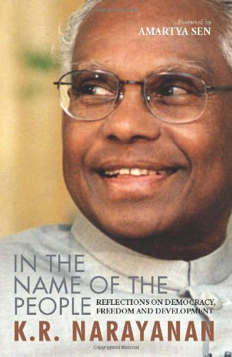 In the Name of the People: K.R. Narayanan