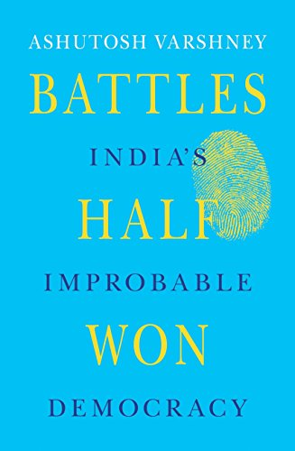 9780670084289: Battles Half Won: India's Improbable Democracy