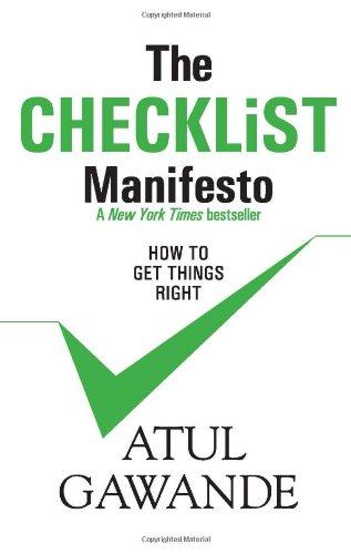 9780670084401: The Checklist Manifesto