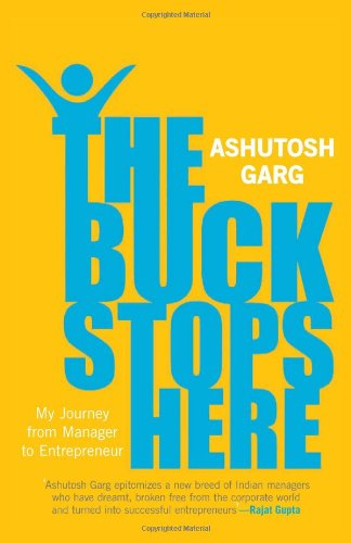 9780670085033: The Buck Stops Here: My Journey from Manager to Entrepreneur