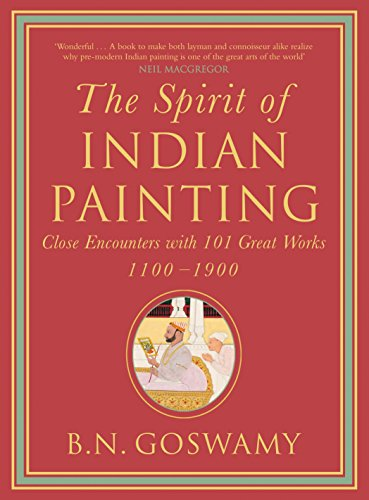 The Spirit of Indian Painting: Close Encounter with 101 Great Works 1100-1900: B.N. Goswamy