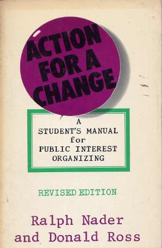 9780670103201: Action for a Change