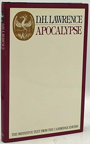 9780670129522: Apocalypse, Cambridge Edition