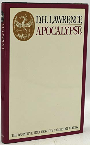 9780670129522: Apocalypse, Cambridge Edition