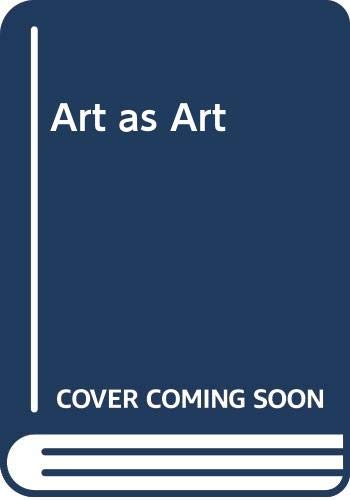 9780670134519: Art as Art: The Selected Writings of Ad Reinhardt (The Documents of 20th-Century Art)