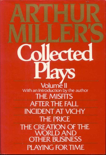 The Collected Plays of Arthur Miller. Vol. 2: Miller, Arthur