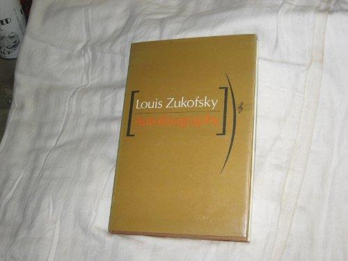 Autobiography: Zukofsky, Louis