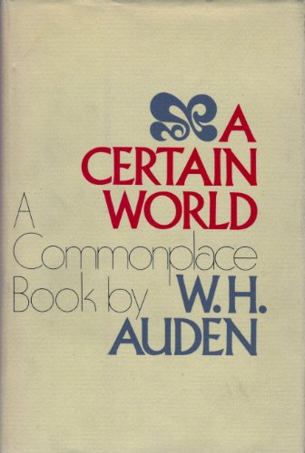 9780670209941: A Certain World: A Commonplace Book