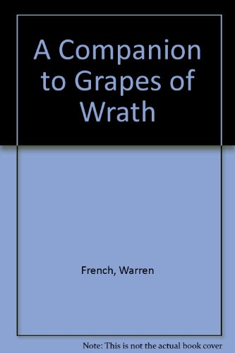 9780670233403: A Companion to Grapes of Wrath