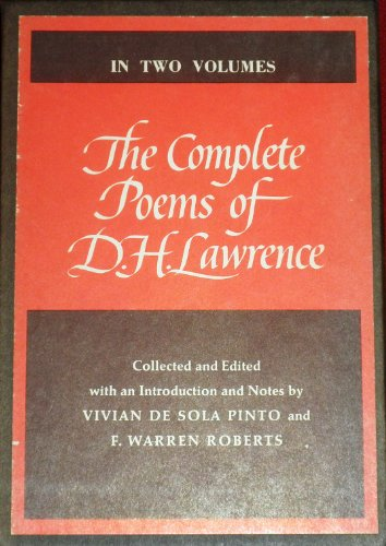 9780670234721: The Complete Poems of D. H. Lawrence