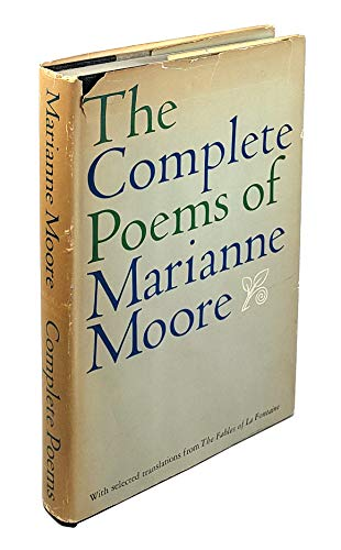 The Complete Poems of Marianne Moore.: Marianne Moore