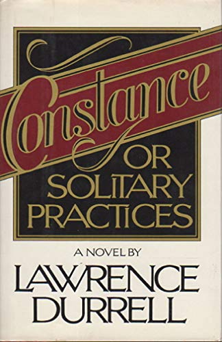 9780670239092: Constance, or Solitary Practices