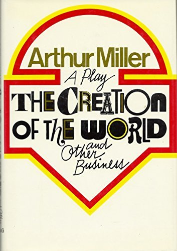 9780670246168: The Creation of The World And Other Business