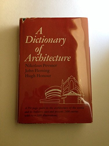 9780670272235: Dictionary of Architecture