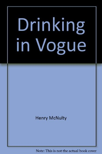 Drinking in Vogue: McNulty, Henry