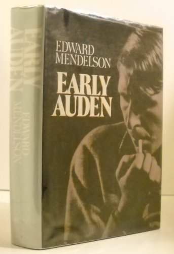 9780670287123: Early Auden