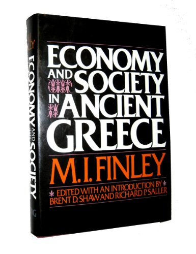 9780670288472: Economy and Society in Ancient Greece