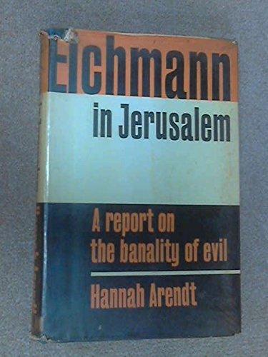 9780670290383: Eichmann in Jerusalem