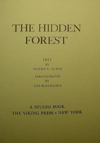 The Hidden Forest: Sigurd Olson