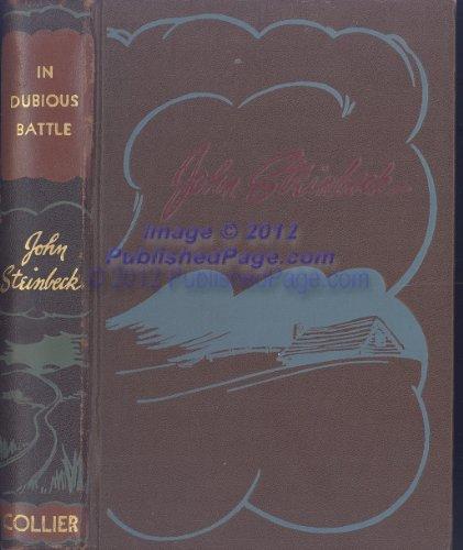 In Dubious Battle: 2: Steinbeck, John