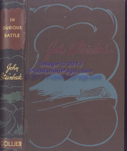 9780670395231: In Dubious Battle: 2