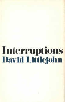 INTERUPTIONS: Littlejohn, David, INSCRIBED