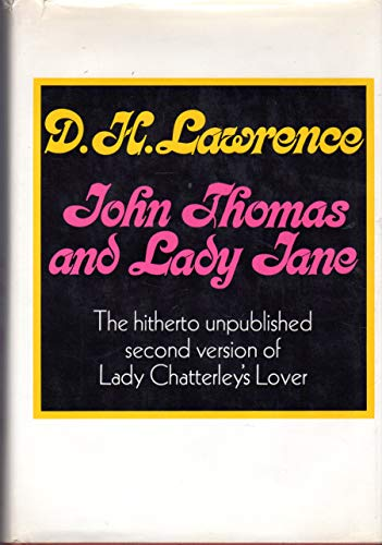 9780670408122: John Thomas and Lady Jane