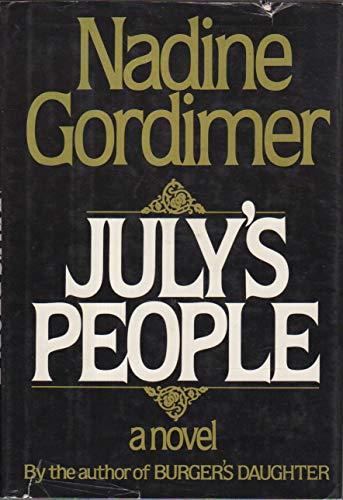 July's People: Nadine Gordimer