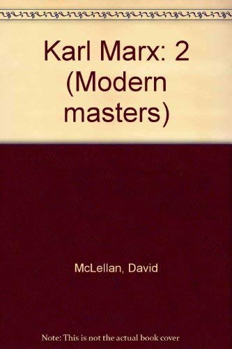 9780670411726: Karl Marx: 2 (Modern masters)