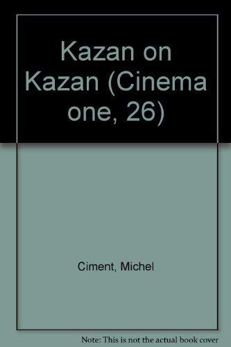 9780670411870: Kazan on Kazan (Cinema One)