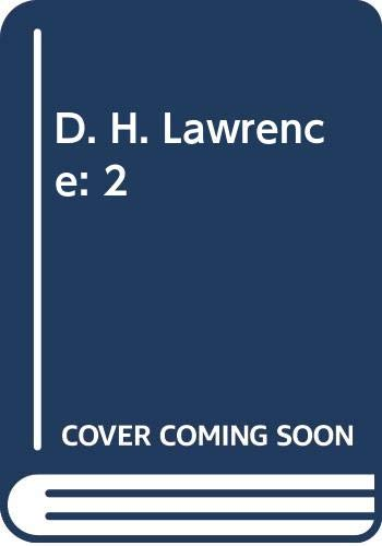 9780670420773: D. H. Lawrence: 2
