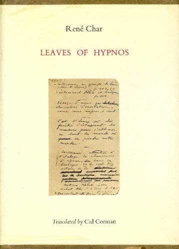 9780670422555: Leaves of Hypnos
