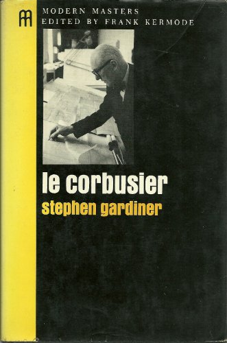 9780670422616: Le Corbusier (Modern Masters Series)