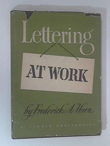 9780670425549: Lettering at Work: 2