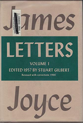 9780670426386: Joyce: Letters: 2Volume 1
