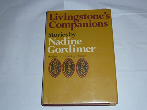 Livingstone's Companions: Stories.