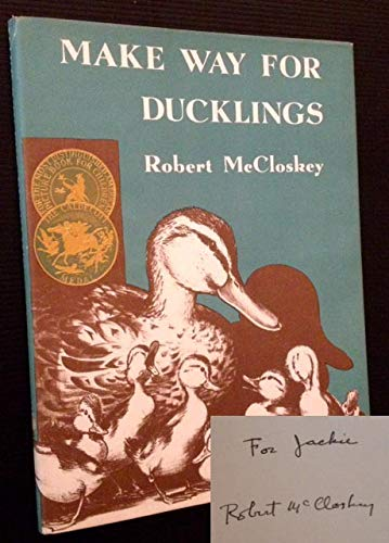 Make Way for Ducklings: McCloskey, Robert