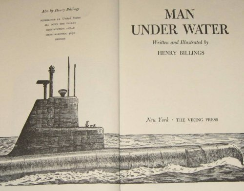 Man under Water (0670453153) by Billings, Henry