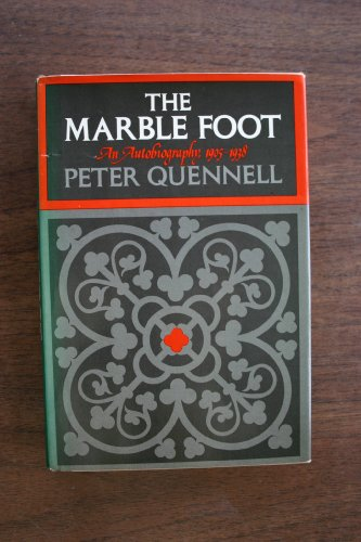 9780670454730: The Marble Foot: An Autobiography 1905-1938