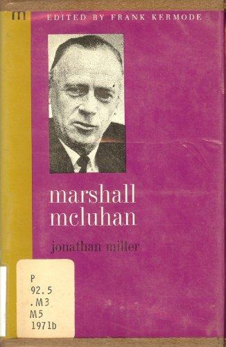 Marshall McLuhan (Modern masters): Miller, Jonathan