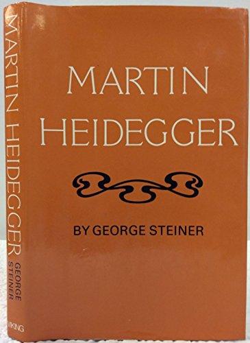 9780670459094: Martin Heidegger (Modern masters)
