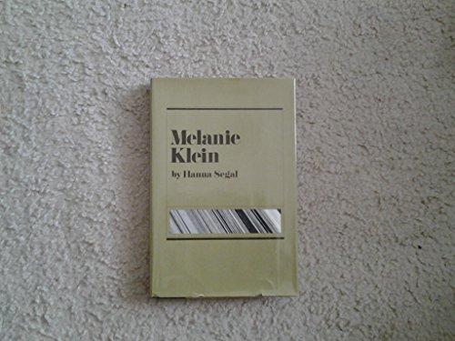 9780670464746: Melanie Klein (Modern masters)